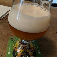 Photo taken at Stone Brewing Tap Room by John G. on 7/4/2018