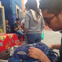 Photo taken at gorditas de la calle by Xime G. on 12/21/2014