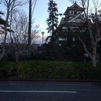 Photo taken at 長浜城 (長浜城歴史博物館) by Masahiro I. on 12/13/2013