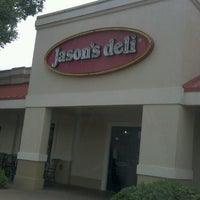 Photo taken at Jason's Deli by Kristina S. on 7/24/2013