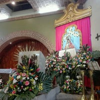 Photo taken at Parroquia Santa Sofia by arkbto t. on 8/31/2016