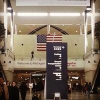 Photo taken at McNamara Terminal by Glenn L. on 4/13/2013