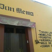Photo taken at Cocina Economica Don Memo by Pedro M. on 4/6/2014
