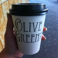 Photo taken at Olive Green's Cafe by Jana L. on 7/1/2013