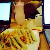 Photo taken at Kedai Kopi Espresso Bar (KeiKo) by Desy S. on 10/11/2013