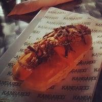 Photo taken at Kangaroo Australian Burger by maluh a. on 9/3/2014