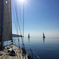 Photo taken at Denizin Tam Ortasında by Rukiye⛵️📷 on 11/26/2016