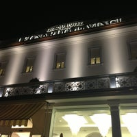 Photo taken at Grand Hotel Leonardo da Vinci by Minou G. on 7/27/2013