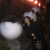 Photo taken at 大連紅葉河豚魚料理 by Robbert P. on 1/6/2017