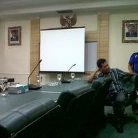 Photo taken at Kantor federasi SPBUN Jl Fachrudin-tanah abang-jakarta by Vinn J. on 6/18/2013
