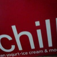 Photo taken at chillbox frozen yogurt by Panagiwta V. on 2/21/2014