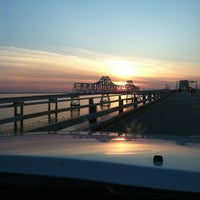 Photo taken at Chesapeake Bay Bridge by Melissa K. on 3/30/2013