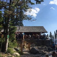 Photo taken at Lake Agnes Tea House by Melissa K. on 8/30/2016