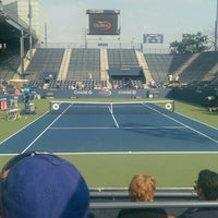 Photo taken at Practice Court 6 / Old Grandstand by Jon D. on 9/2/2015