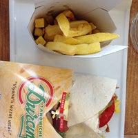 Photo taken at Duran Sandwiches by Ceren A. on 9/23/2013