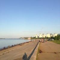 Photo taken at Волжская набережная by Михаил С. on 7/22/2013