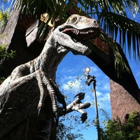 Photo taken at Jurassic Park: The Ride by Will B. on 1/15/2013