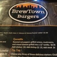 Photo taken at Brewtown Burgers by ♰Jim K. on 12/31/2016