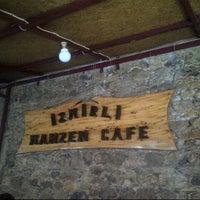 Photo taken at İzmirli Mahzen Cafe by Fatih U. on 6/23/2013
