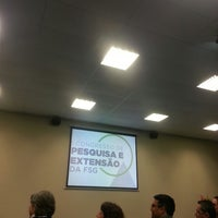 Photo taken at FSG | Auditório by Jéssica S. on 9/30/2013