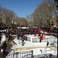 Photo taken at Hester Street Playground by Daniel B. on 2/10/2013