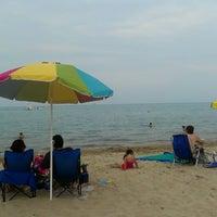 Photo taken at Clark Street Beach by Nureen G. on 7/6/2013