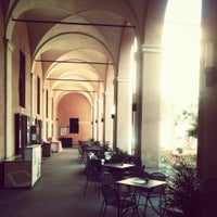 Photo taken at Student's Hostel della Ghiara by Meho S. on 6/22/2013