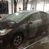 Photo taken at Russell Speeder's Car Wash by Richard S. on 10/17/2012