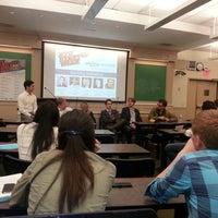 Photo taken at NYU Law | Vanderbilt Hall by Kim P. on 10/1/2012
