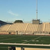 Photo taken at Tustin High School Football Stadium by Victor E. on 9/21/2015