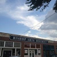 Photo taken at Bishop Arts District by Chris H. on 6/16/2013