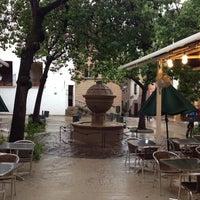 Photo taken at Restaurant La Font de Prades by Fatima C. on 9/7/2013