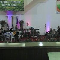 Photo taken at Igreja Batista Nova Filadélfia - Rocha Miranda by Rafaelle M. on 8/1/2013