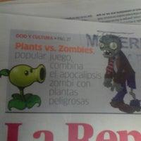 Photo taken at Diario La República by Oscar E. on 7/6/2013