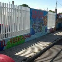 Photo taken at Colegio Britanico Chetumal by Publicidad E. on 8/18/2014