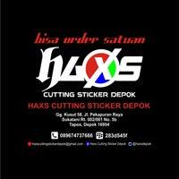 Photo taken at Haxs Cutting Sticker Depok (Bisa Order Satuan) by Sapto H. on 6/16/2013