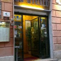 Photo taken at Da Otello in Trastevere by Ирина К. on 6/25/2013