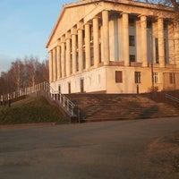 Photo taken at Дворец Культуры Юбилейный by Nikita P. on 11/25/2013