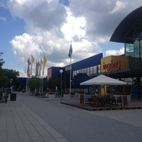 Photo taken at IKEA Barkarby by Xiāo L. on 6/29/2013