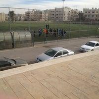 Photo taken at ملعب الهاشمي by Ali A. on 1/7/2014
