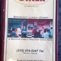 Photo taken at Market Diner by Mark D. on 3/23/2014