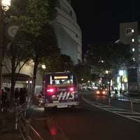 Photo taken at 西鉄バス キャナルシティ博多前 by 468yokkun on 9/19/2015
