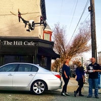Photo taken at The Hill Café by Chad W. on 4/2/2015