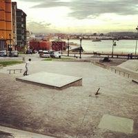 Foto tomada en Skatepark Cimadevilla por María G. el 10/25/2013