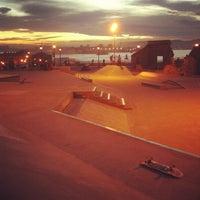 Foto tomada en Skatepark Cimadevilla por María G. el 10/27/2013