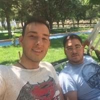 Photo taken at senir kasabasi cay bahcesi by Mehmet E. on 7/18/2016