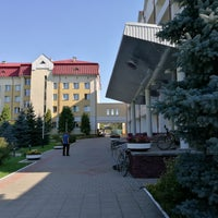 Photo taken at Санаторий станции Гомель БелЖД by Илья К. on 8/5/2016