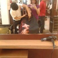 Photo taken at Salon Chardan Ayala Mall by Jean Rose M. on 8/5/2013
