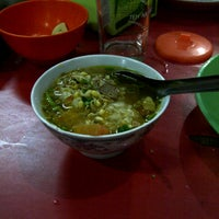 Photo taken at Soto Sore Daging Sapi by Asep P. on 4/12/2013
