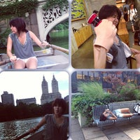 Photo taken at Central Park Rowboat by Spookie A. on 7/24/2013
